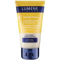 Отзыв на Lumene Radiant Touch 2in1 Detoxifying Mask & Micro Scrub