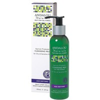 Review andalou naturals cleansing milk for dry sensitive skin apricot probiotic 859975002218