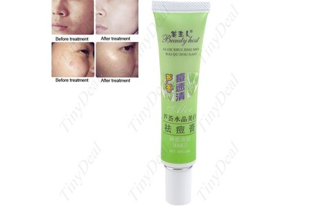 Main aloe acne remove vanishing dispelling plaster cream skin care beauty product