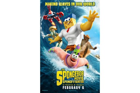 Main the spongebob movie sponge out of water movie poster