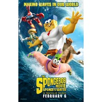 Review the spongebob movie sponge out of water movie poster
