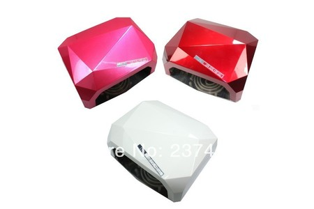 Main 2013 newest 18w led ccfl nail polish dryer lamp light for curing led gels