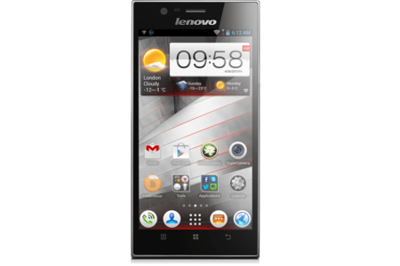Main lenovo smartphone ideaphone k900 front side