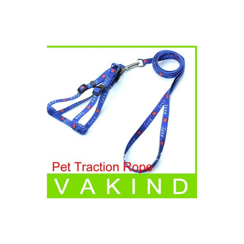 Отзыв на Шлейка Aliexpress HOT Small Dog Pet Puppy Cat Adjustable Nylon Harness with Lead leash 5 Colors