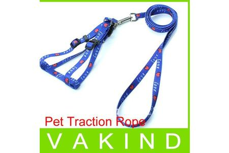 Main new hot sell simple design adjustable soft pet dog safety harness nylon leashes