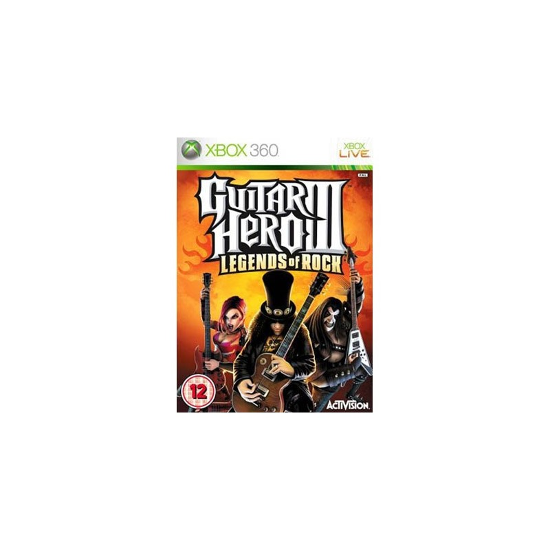 Отзыв на Guitar Hero 3: Legends of Rock