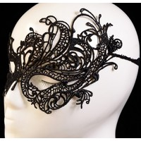 Review new 2014 sexy womens vintage elegant lace eye face prom party dress mask masquerade