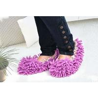 Отзыв на Тряпки носки из микрофибры Buyincoins Mop Slippers Lazy Quick House Floor Polishing Dusting Cleaning Foot Socks Shoes