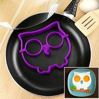 Отзыв на Формочки для яичницы AliExpress Breakfast Kitchen Silicone Owl Fried Egg Mold Pancake Mould Funny Kitchen Free Shipping