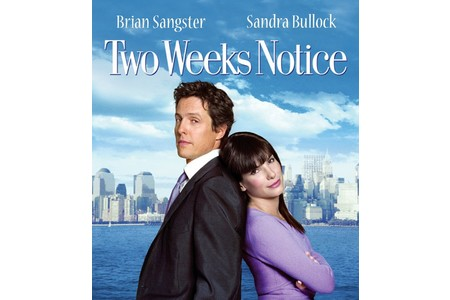 Main two weeks notice