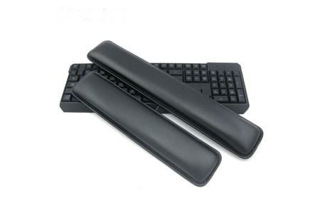 Main new ergonomical leather keyboard rest wrist pad mat raised platform hands comfort cushion support for pc