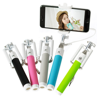Отзыв на Монопод для селфи Aliexpress Wired Selfie Stick Handheld Monopod