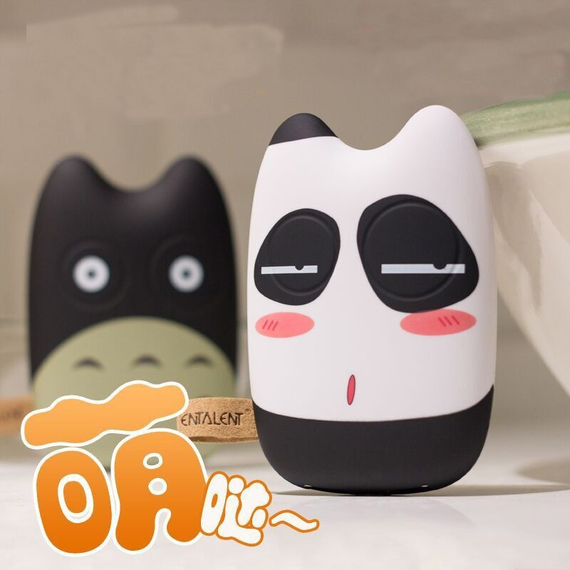 Отзыв на Внешний аккумулятор Aliexpress Mobile Power Bank 10400mah Cartoon portable charger external Battery 10400 mah mobile phone charger Backup powers