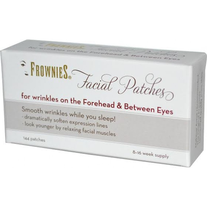 Отзыв на Патчи для лица Frownies Facial Patches For Foreheads & Between Eyes