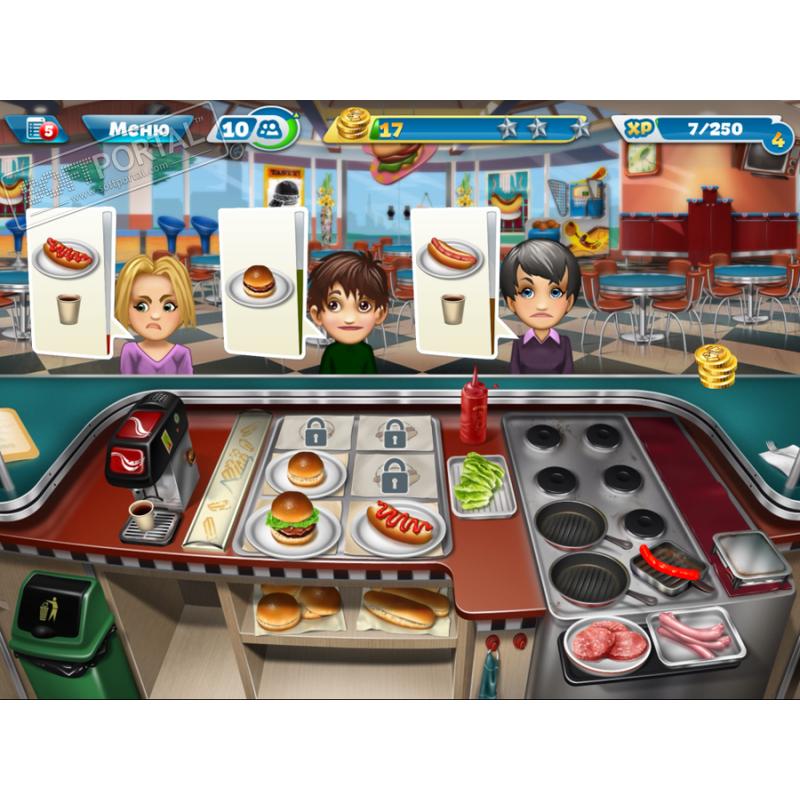 игра cooking fever как получить алмазы в казино