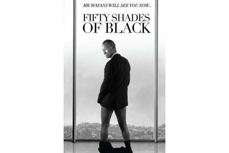 Main free shipping22 x35 inch fifty shades of black movie poster custom art print