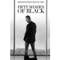 Review free shipping22 x35 inch fifty shades of black movie poster custom art print