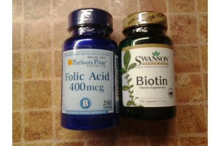 Main biotin folic