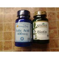 Review biotin folic