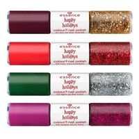 Review essence happy holidays nail polish