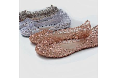 Main supernova sales new 2014 feshion summer breathable women shoes designer jelly sandals nest mesh flats for