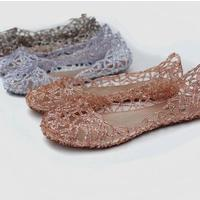 Review supernova sales new 2014 feshion summer breathable women shoes designer jelly sandals nest mesh flats for