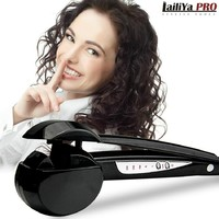 Review brand new styling tools hair curler rollers spa perfect steam spray magic stylist curl best qualiuty