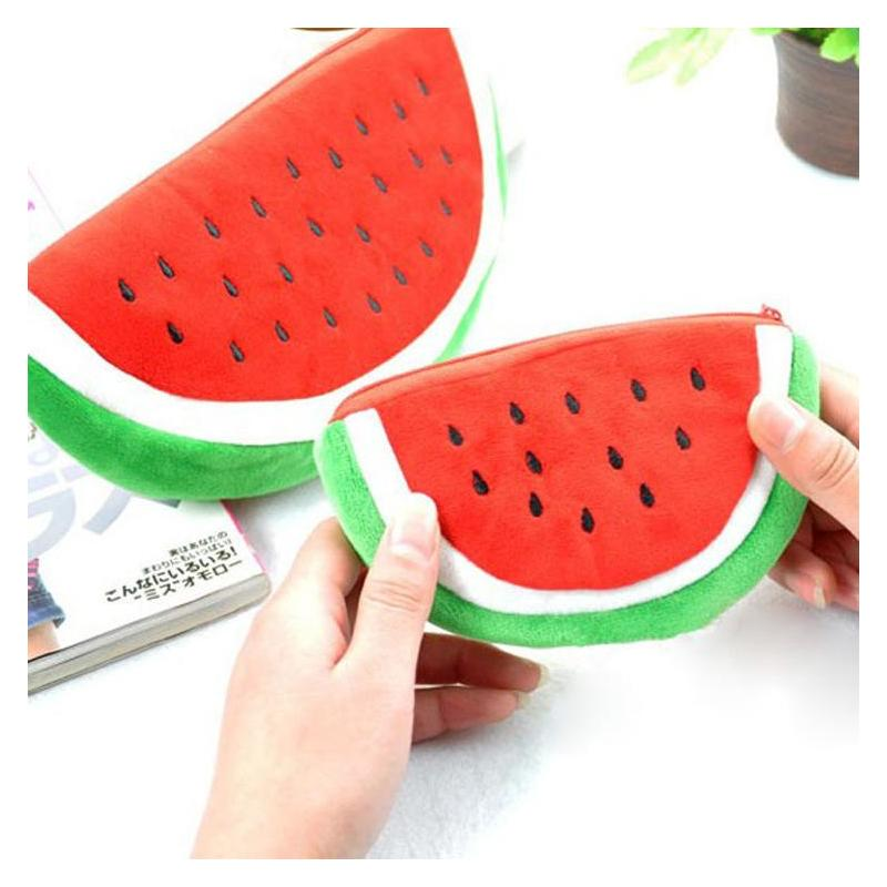 Отзыв на Кошелек Aliexpress 2015 New Arrival Girls Womens Watermelon Coin Bag Wallet Purse Key Zipper Bag Cosmetic Purse Bag
