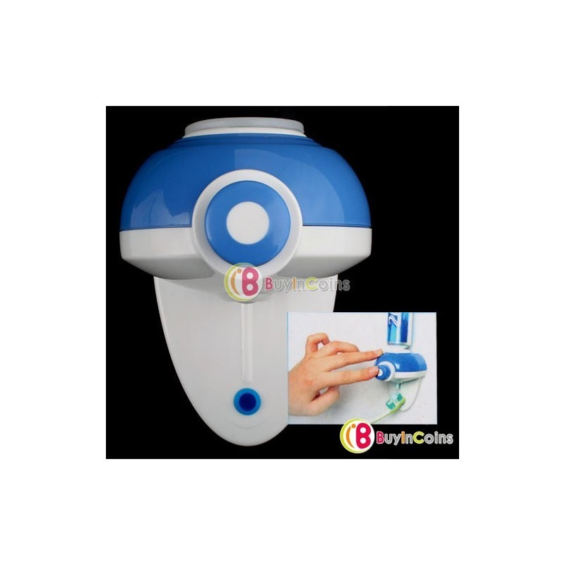 Отзыв на Диспенсер для зубной пасты Touch Automatic Auto Squeeze Out Toothpaste Dispenser