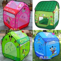 Отзыв на Детская палатка Aliexpress Child tent ultralarge game house toy house play tent