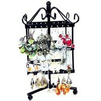 Отзыв на Подставка для бижутерии Aliexpress New Jewelry Earring Display, 48 Holes Earring Jewelry Display Rack Stand Holder