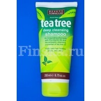 Отзыв на Шампунь Beauty Formulas Tea Tree deep cleansing shampoo с маслом чайного дерева