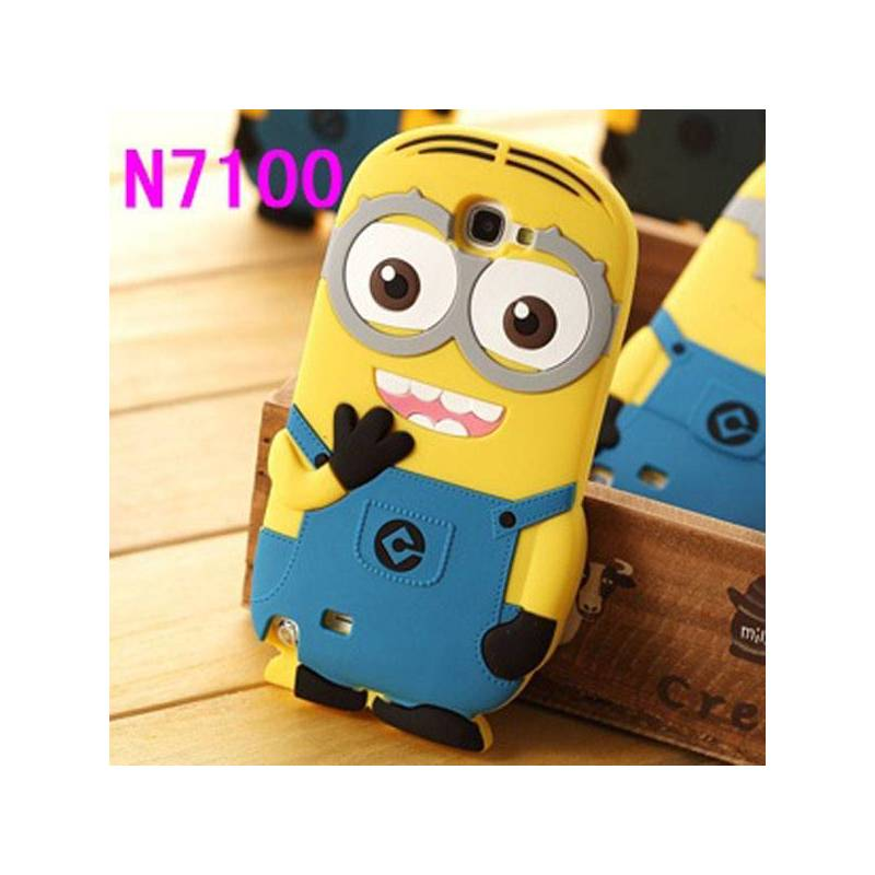 Отзыв на   Чехол для мобильного телефона Aliexpress 3D Despicable Me Minion Silicone case cover for Samsung Galaxy Note 2 II N