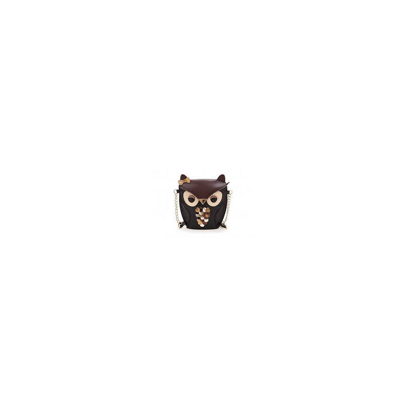 Отзыв на Сумка женская Aliexpress Rebecca's Secret   Owl PU Leather bag     Women Messenger     Shoulder Handbag