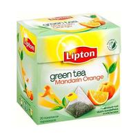 Отзыв на Чай Lipton 'Mandarin Orange' Green  20  пирамидки