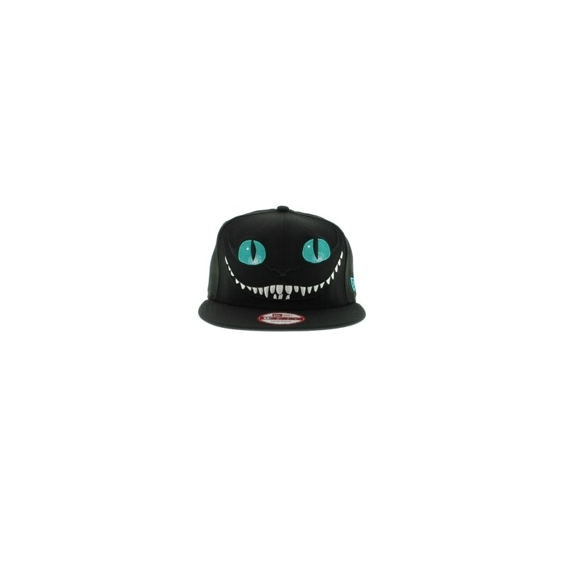 Отзыв на New 2014 Alice in Wonderland Cheshire Cat cartoon baseball caps hiphop hats for Men and Women snapback Free Shipping