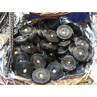 Review candy liquorice wheels
